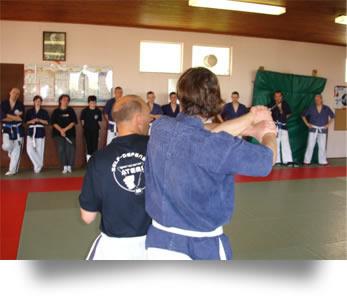 Cours de self défense à Metz