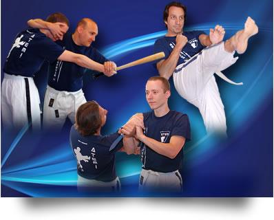 Les instructeurs du club de Self défense ATEMI de Metz